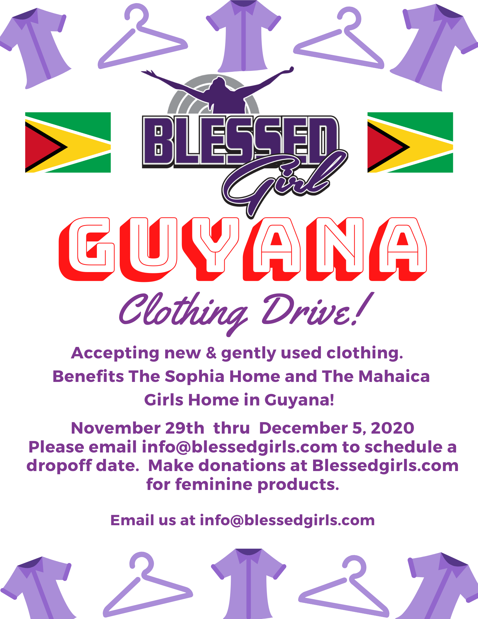 Clothing drive 2020